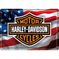 Postcard Harley Davidson USA