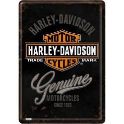 Postcard Harley Davidson...
