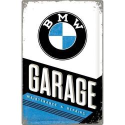 Metalen bord BMW Garage