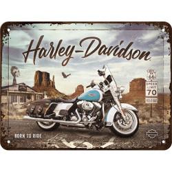 Metalen bord Harley...
