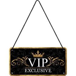 Metalen hangbord VIP Exclusive