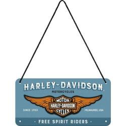 Metalen hangbord Harley...