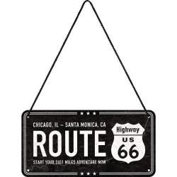 Metalen hangbord Highway...