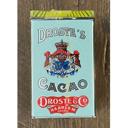 Vintage Droste cacao blikje