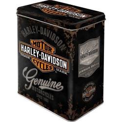 Tinnen Blik Harley Davidson...