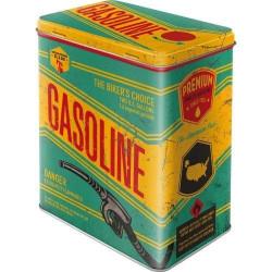 Tinnen Blik Gasoline L