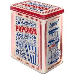Tinnen Blik Popcorn L