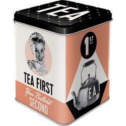 Thee Box Tea First