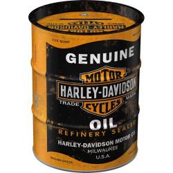 Spaarpot Oil Barrel Harley...