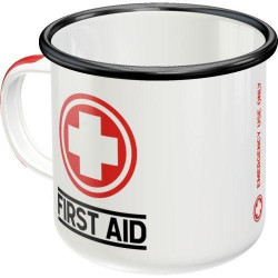 Emaille Mok First Aid