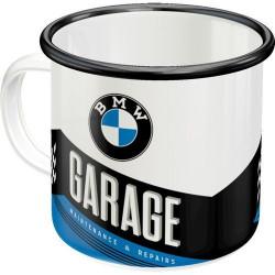 Emaille Mok BMW Garage