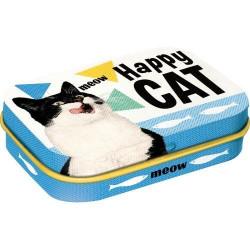 Pepermunt Doosje Happy Cat