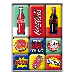 Magneetset Coca Cola Pop Art