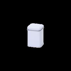 Wit blik vierkant 25 gr