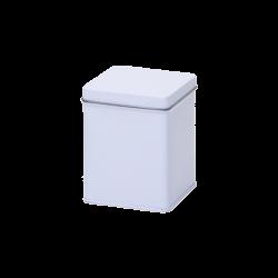 Wit blik vierkant 100 gr