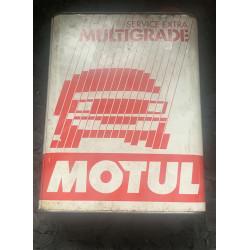 Benzine blik Motul Multigrade