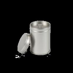 Kruidenblik zilver klein