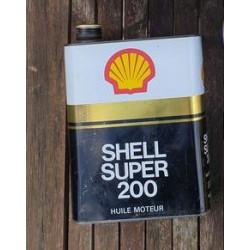Olieblik Shell super 200...