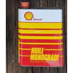 Olieblik Shell huile...