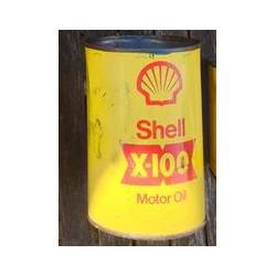 Rond Shell blik X100